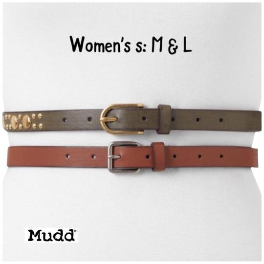 Preload https://img-static.tradesy.com/item/23856667/mudd-browngold-l-set-belt-0-1-540-540.jpg