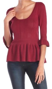 Torn by Ronny Kobo Top Mauve, Pink, Rouge