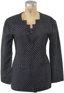 Xiao Studio Checkered Everyday Black, Gray Blazer