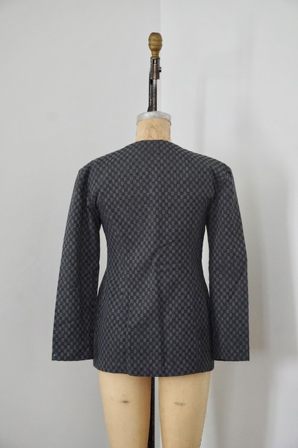 Xiao Studio Checkered Everyday Black, Gray Blazer Image 5