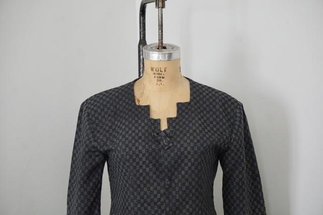 Xiao Studio Checkered Everyday Black, Gray Blazer Image 6