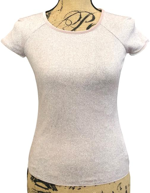 Preload https://img-static.tradesy.com/item/23856836/armani-collezioni-pink-sheer-and-silver-cap-sleeve-us-40-eu-blouse-size-10-m-0-1-650-650.jpg