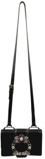 Miu Miu Orchard Leather Adjustable Strap Shoulder Bag Image 1