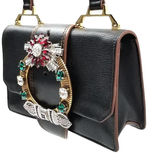 Miu Miu Orchard Leather Adjustable Strap Shoulder Bag Image 4