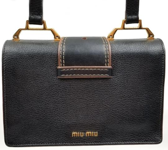 Miu Miu Orchard Leather Adjustable Strap Shoulder Bag Image 5