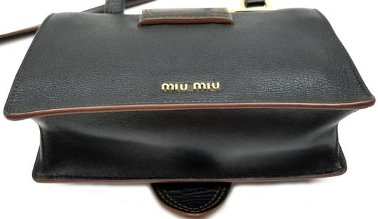 Miu Miu Orchard Leather Adjustable Strap Shoulder Bag Image 7