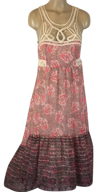 Item - Multicolor Print Long Casual Maxi Dress Size 4 (S)