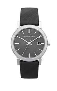 Burberry New Burberry Heritage City Men Unisex Leather Band Bu9024 36mm Watch