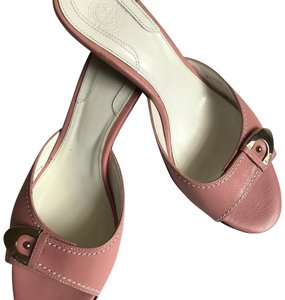 Bally Rose pink Mules