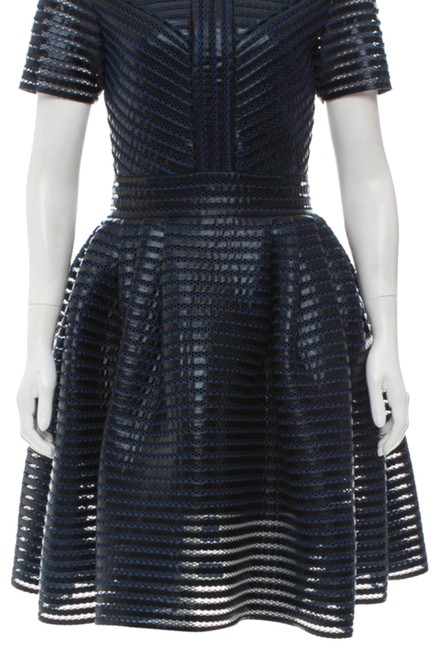 Preload https://img-static.tradesy.com/item/23857451/maje-black-and-blue-short-night-out-dress-size-2-xs-0-1-650-650.jpg