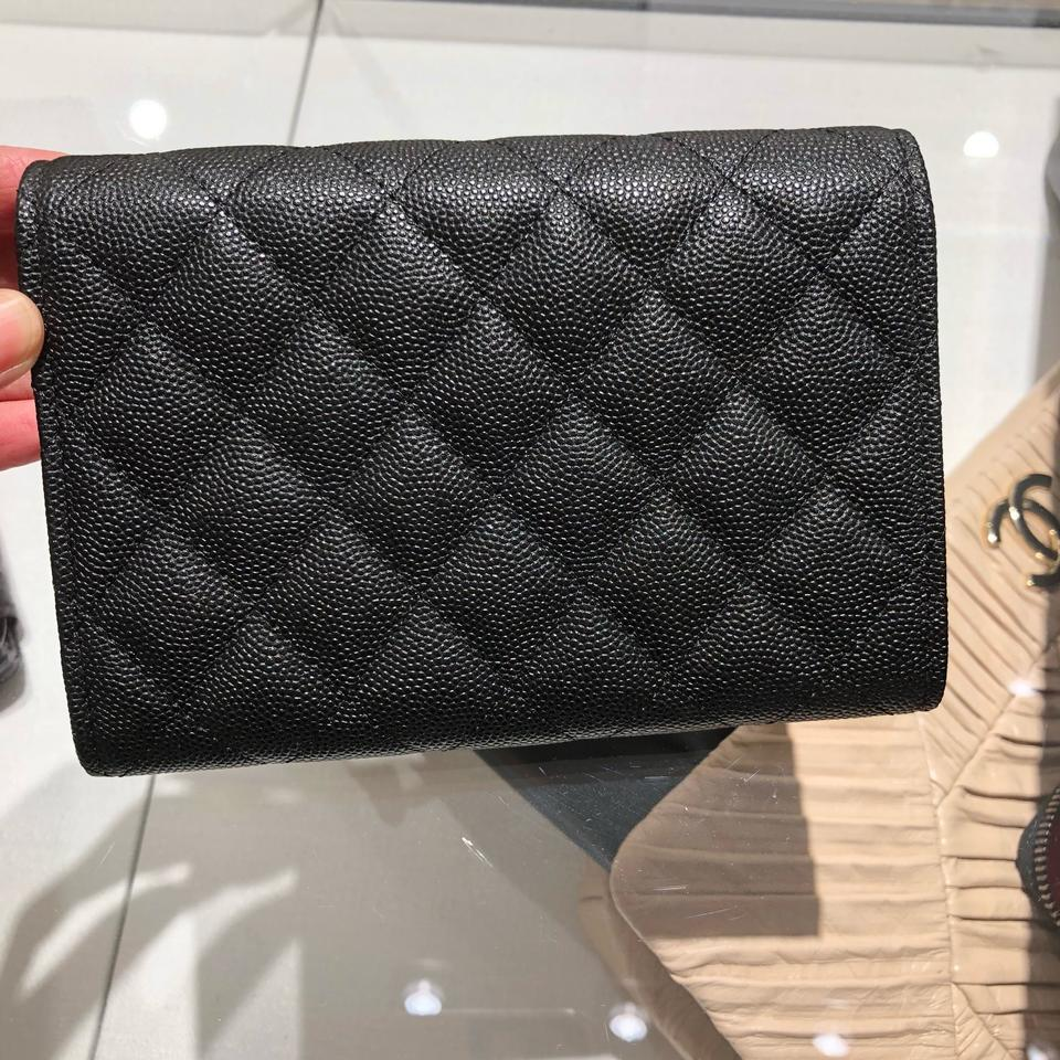03cf109b3721 Chanel Chanel Classic Flap Compact Wallet Image 3. 1234