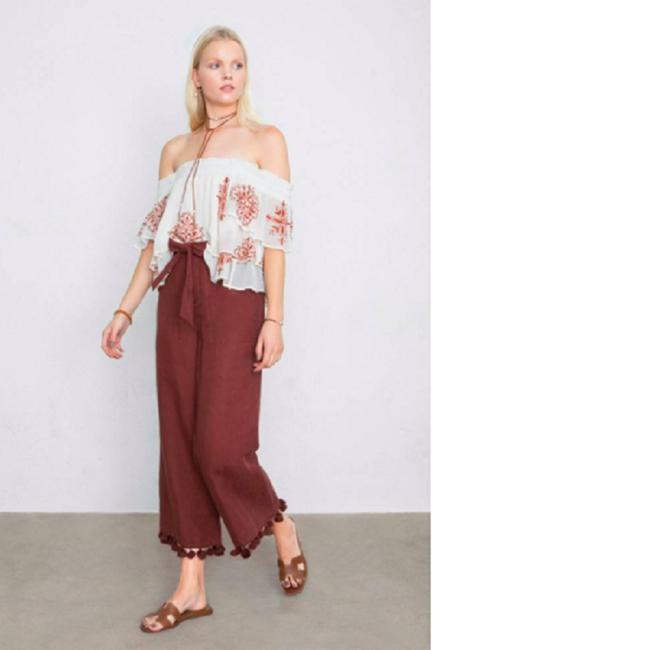 Chan Luu Off The Shoulder Viscose Embroidered Top Image 1