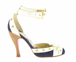 Christian Lacroix Blue Pumps