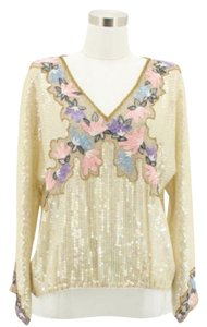 Colorful Creations Top White
