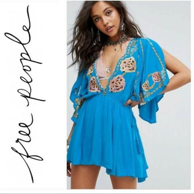Preload https://img-static.tradesy.com/item/23858166/free-people-blue-cora-embroidered-romperjumpsuit-size-14-l-0-1-650-650.jpg