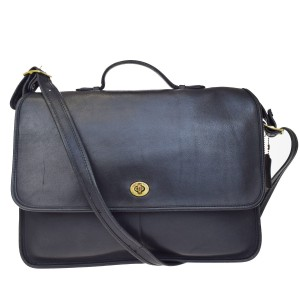 Coach Made In United State Black Messenger Bag