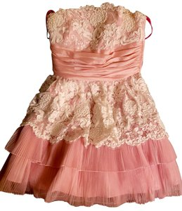 Betsey Johnson Prom Party Wedding Floral Tutu Dress