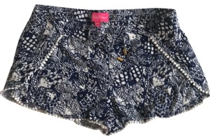 Lilly Pulitzer for Target Mini/Short Shorts Navy and white