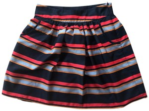 Emmelee Mini Skirt Red Blue