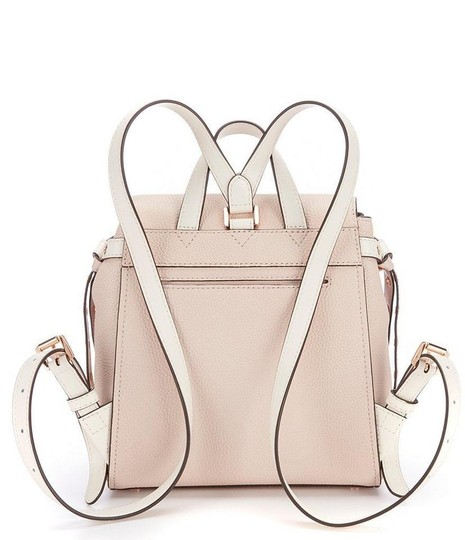 MICHAEL Michael Kors Bristol Small Pebble Leather Floral Applique Sof Pink/Cream Backpack Image 2