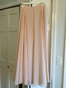 Jenny Yoo Blush Hampton Skirt Formal Bridesmaid/Mob Dress Size 6 (S)