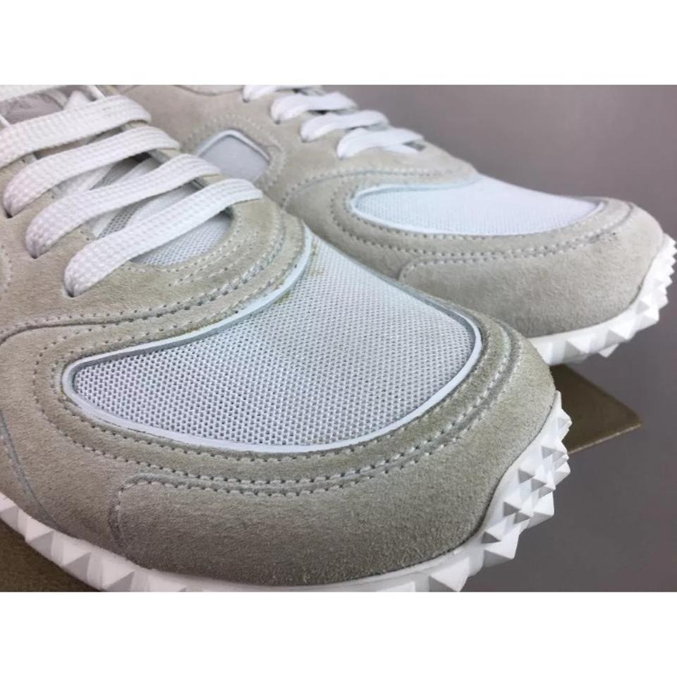 White Suede New Fabric Soul Sneakers Am amp; Sneakers In Valentino f1Aq5w88