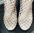 Christian Louboutin Nude Porligat Nu Leather Knitted Boot Sandal Pumps Size EU 39.5 (Approx. US 9.5) Regular (M, B) Christian Louboutin Nude Porligat Nu Leather Knitted Boot Sandal Pumps Size EU 39.5 (Approx. US 9.5) Regular (M, B) Image 4