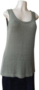 Premise Sleeveless Olive With Tags Knit New Sweater