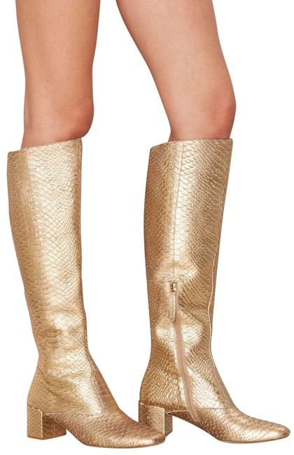 Item - Gold Truth Be Boots/Booties Size US 6 Regular (M, B)