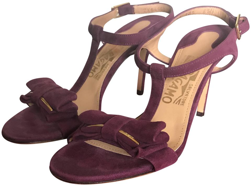 Salvatore Revi Ferragamo Barolo Revi Salvatore Calf Suede Leather Sandals 0bcfb6