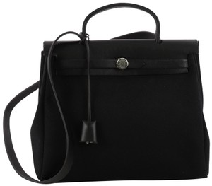 Hermès Leather Tote in black - item med img