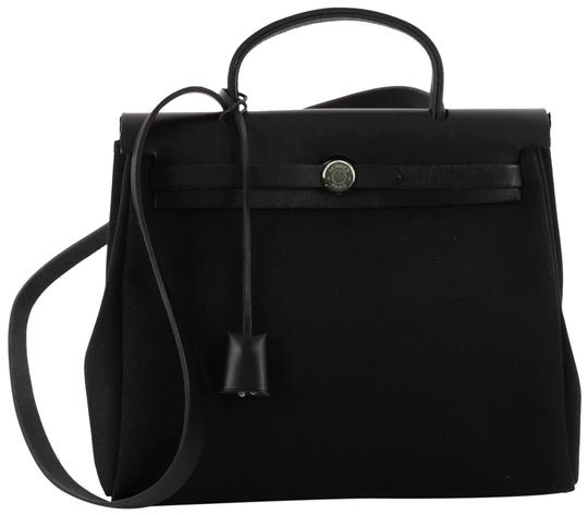 Preload https://img-static.tradesy.com/item/23860365/hermes-herbag-toile-and-pm-black-leather-tote-0-2-540-540.jpg