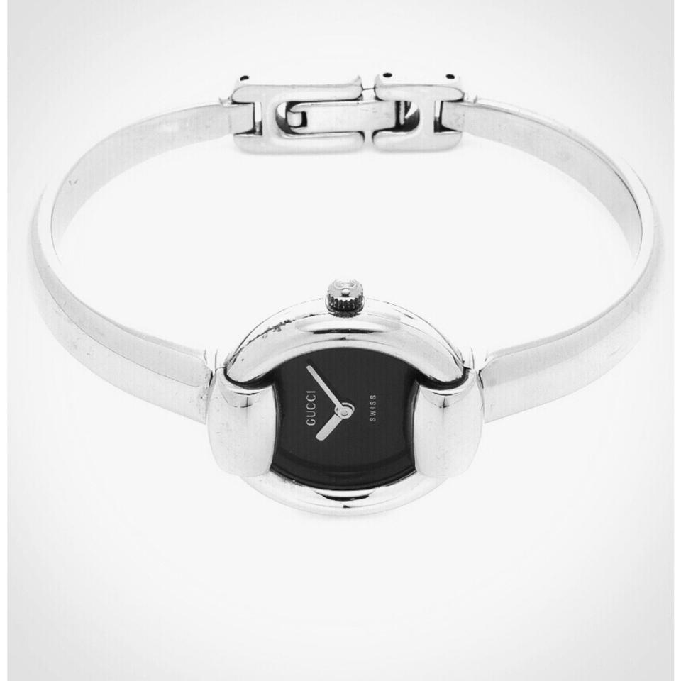 0625d07e2ad Gucci Silver Vintage 1400l Stainless Steel Bracelet Watch - Tradesy