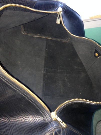 Unknown Leather Black Travel Bag