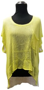 KERISMA Loom Kni Top Yellow Ivory