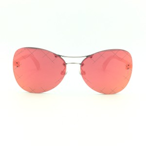 Chanel Butterfly Red Crosshatch Mirror 4218 c.124/6Q Sunglasses