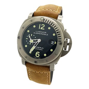 Panerai PANERAI PAM 25 LUMINOR SUBMERSIBLE 44MM TITANIUM BLACK WAFFLE DIAL