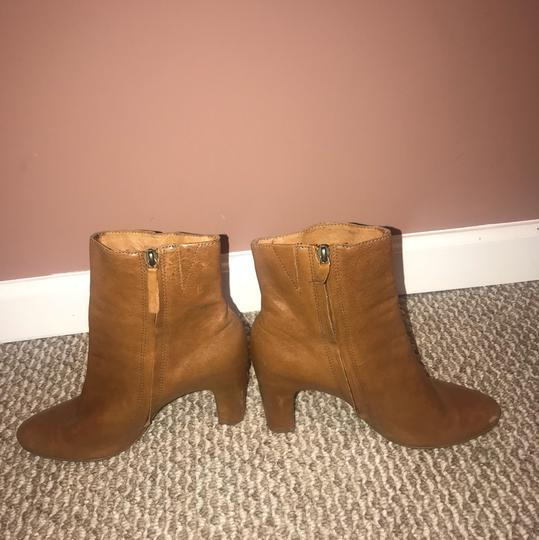 Naked Feet tan Boots