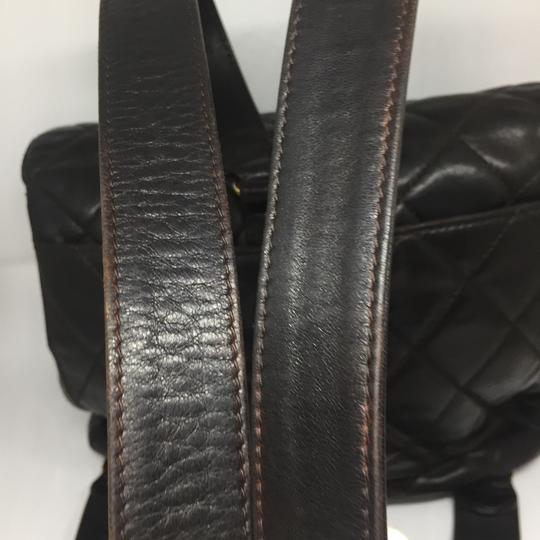 Chanel Vintage Lambskin Quilted Backpack