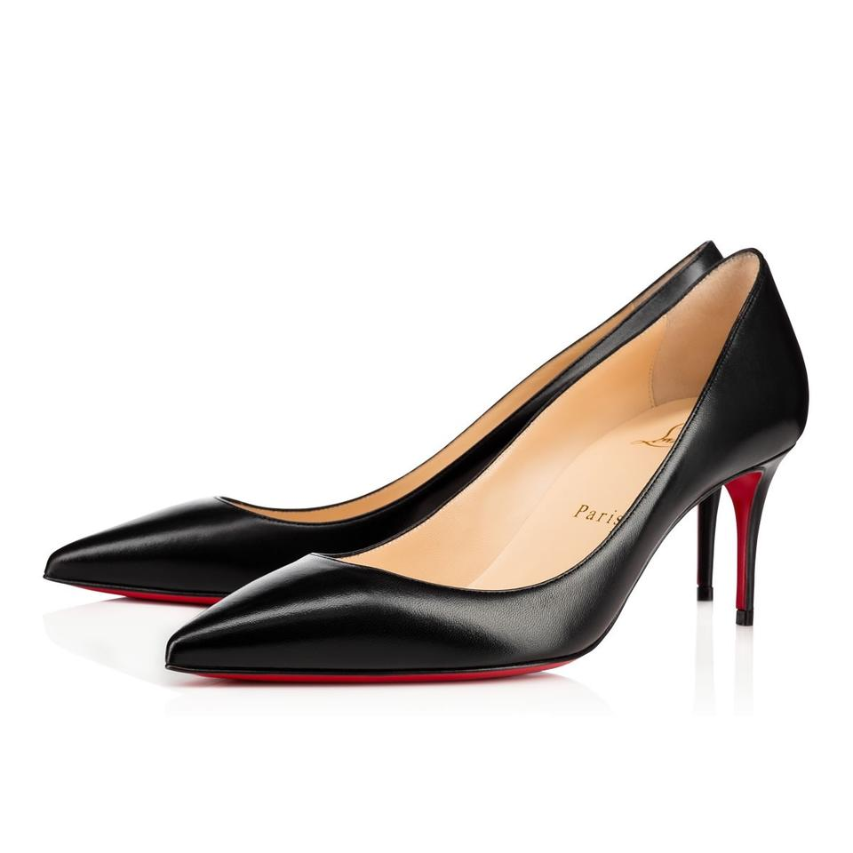 new product 7819c 0eeea Christian Louboutin Black Classic Apostrophy 85mm Nappa Shiny Leather  Point-toe Pumps Size EU 41 (Approx. US 11) Regular (M, B)