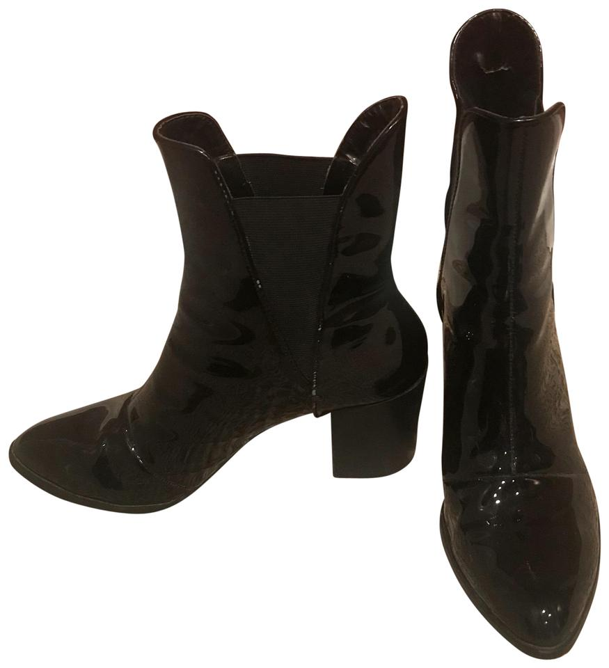 e8538dc9c28 Zara Patent Leather Boots Booties. Size  EU 40 (Approx. US 10) Regular (M  ...