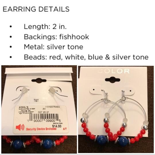 Color necklace and earring