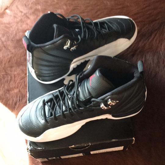 Air Jordan black and white Athletic