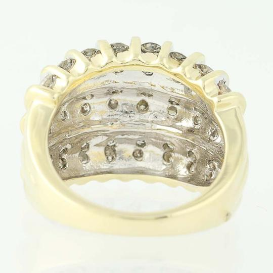 Other NEW Diamond Ring - 10k Yellow Gold Size 7 1/4 Round Cut 2.00ctw n9854