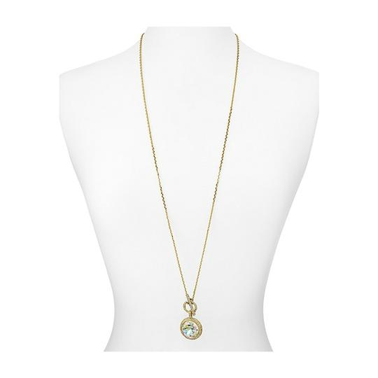 Kate Spade Kate Spade NEW 12K Gold Absolute Sparkle Pendant Wrap Necklace
