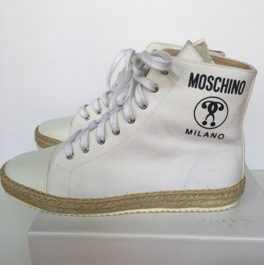 Moschino Couture White Athletic