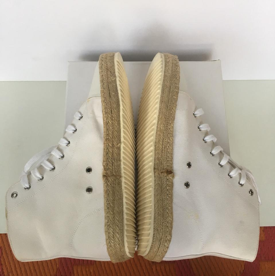 White High Top Espadrille Sneakers Sneakers Sneakers Sneakers 464188