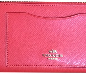 Coach Coach Saffiano Leather Clutch -NWT