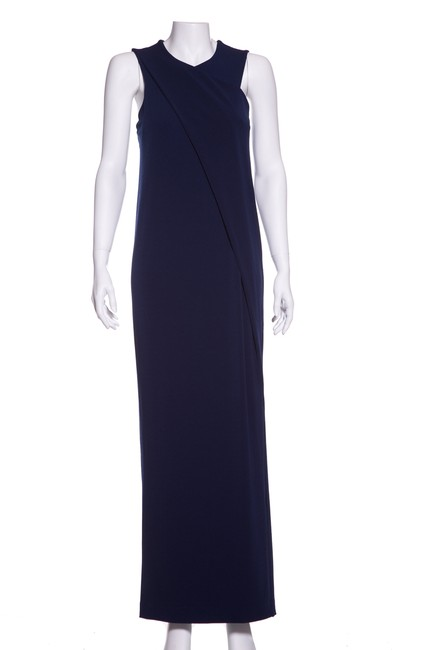 Preload https://img-static.tradesy.com/item/23861204/by-malene-birger-navy-knit-drape-detail-long-casual-maxi-dress-size-8-m-0-0-650-650.jpg