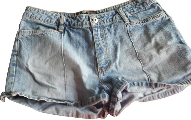 Preload https://item5.tradesy.com/images/route-66-light-blue-33023-minishort-shorts-size-14-l-34-23861444-0-1.jpg?width=400&height=650